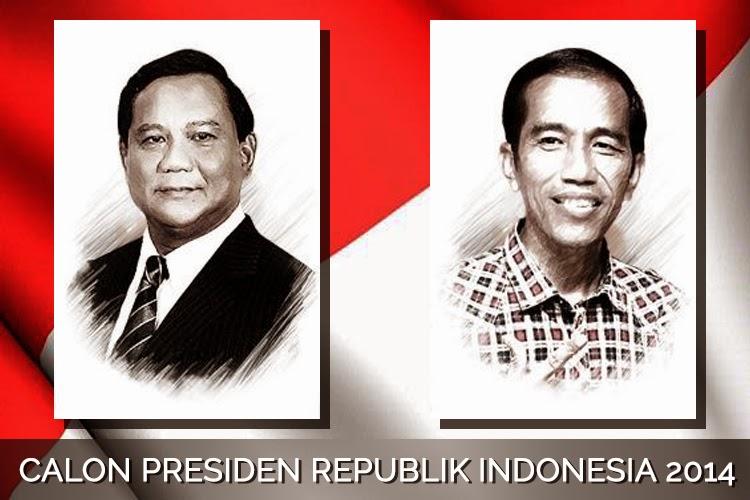 Prabowo Subianto dan Joko Widodo (Calon Presiden Republik Indonesia 2014)