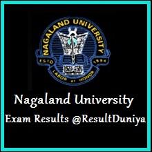 Nagaland University UG Results 2015