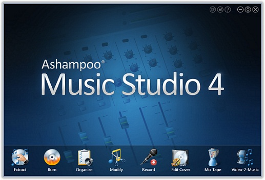 تحميل برنامج Ashampoo Music Studio 4 مجانا لتعديل وتحرير الصوتيات