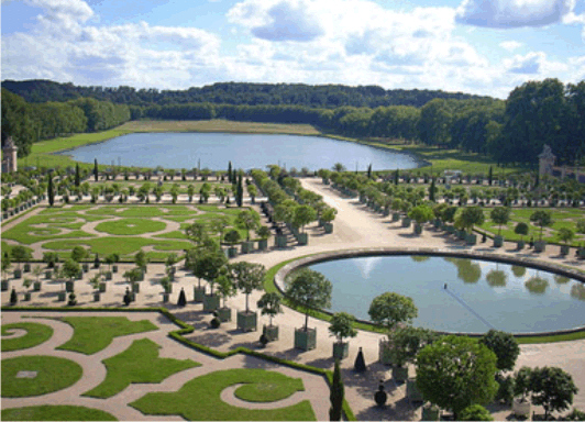 Cluster one for Garden design versailles
