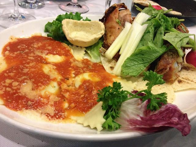 Foto del blog Foodpics Italy: piatto unico dell'Isola del Tesoro ristorante di Milano