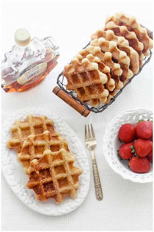 Liege Waffles Recipe — Dishmaps