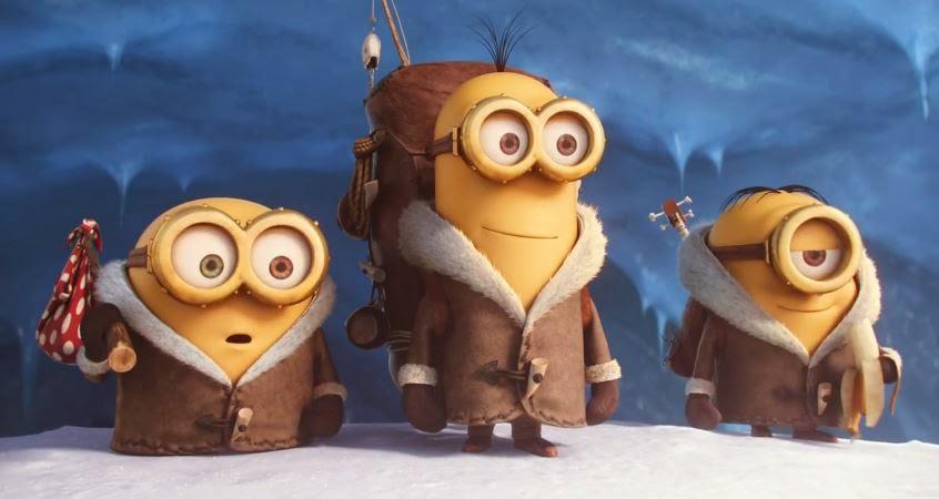 Gambar Minions 2015 FIlm Kevin Stuart Bob Happy New Year Movie