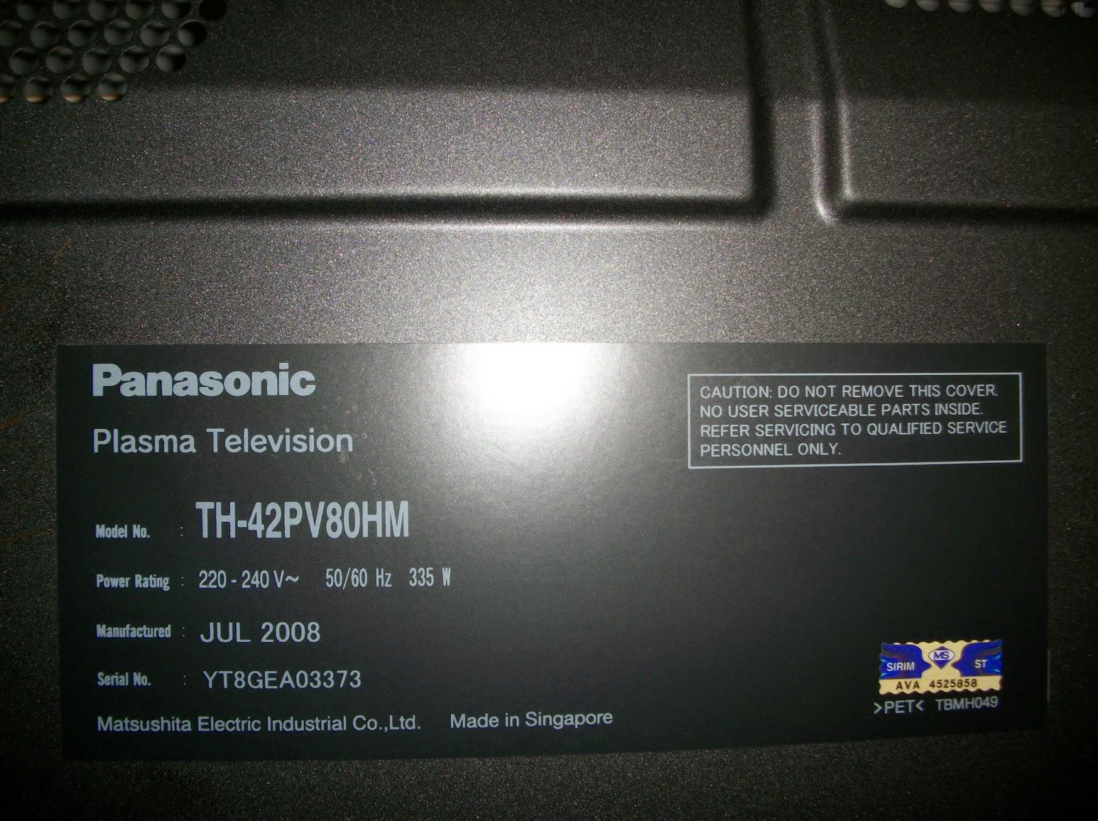 how to fix panasonic tv
