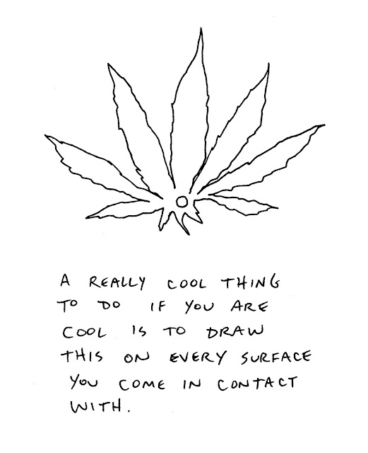 Cool Weed Leaf Drawings Cool weed plant drawings cool