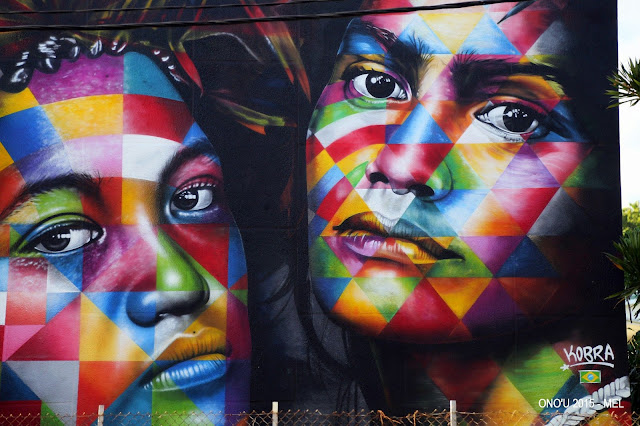 Kobra was also part of this year's lineup for the Ono'U Festival in Papeete, Tahiti where he worked on a brand new mural.