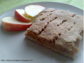 reform almás, reform almáspite, tönkölybúza almás pite, cukormentes almás pite, vékony almás pite, teljes kiörlésű almás pite
