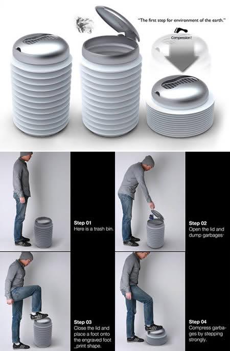 20 Tempat Sampah Terunik di Dunia: Armstrong Bin