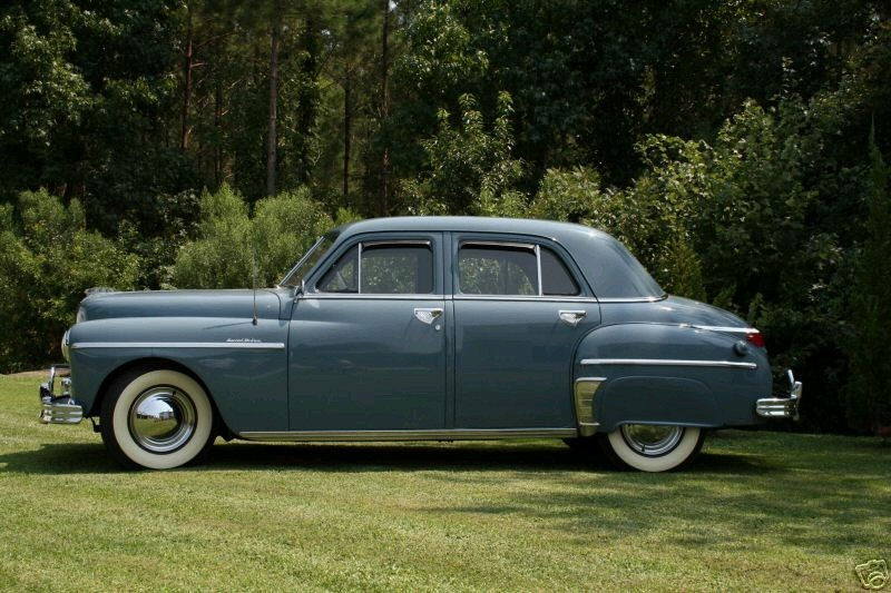 Classic car information plymouth great depression in the for 1949 plymouth 4 door