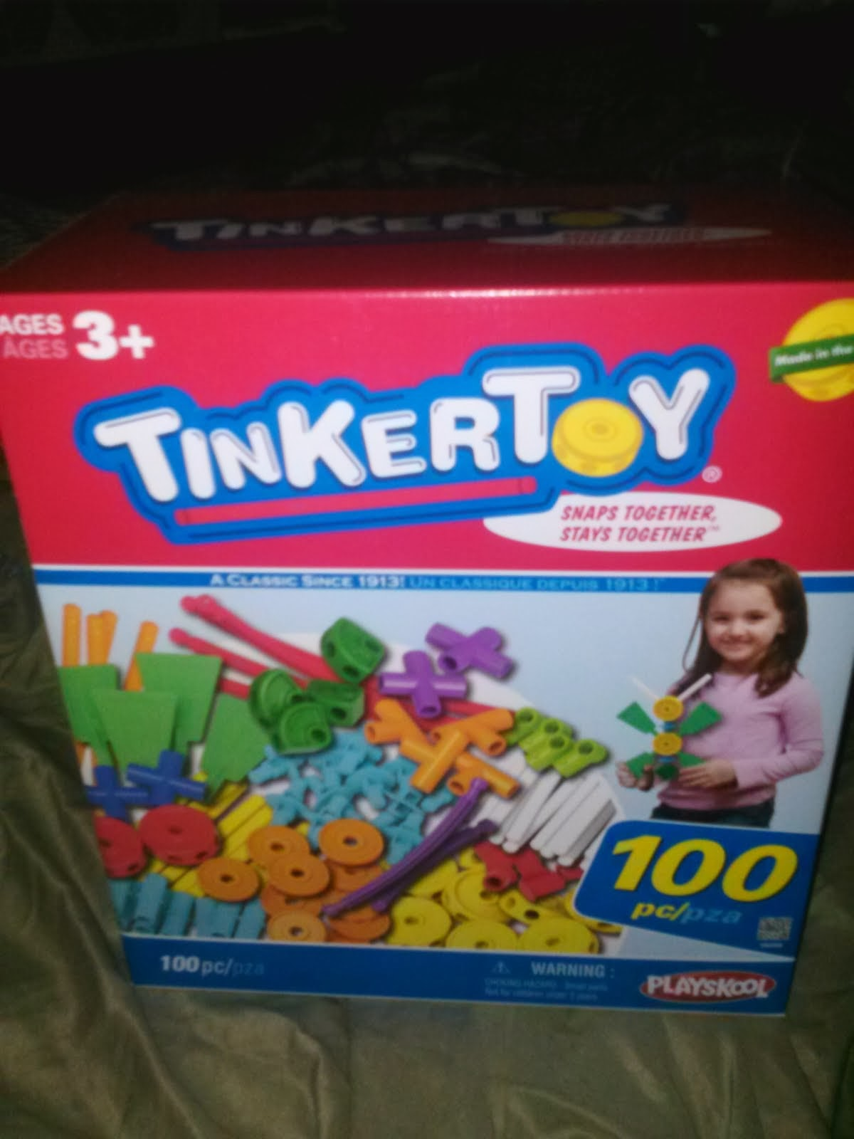 Tinkertoy 100 Piece Set