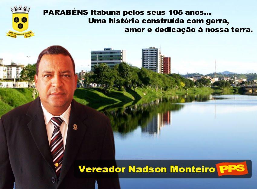 MENSAGEM DO VEREADOR NADSON MONTEIRO ( PPS )