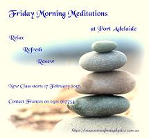 Friday Morning Meditations
