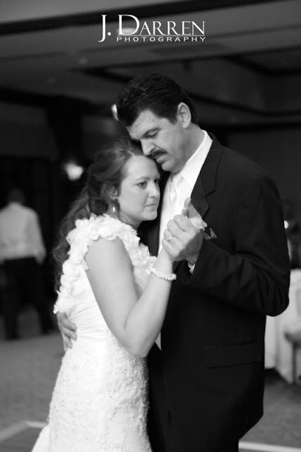 photo of the father and daughters first dance together at a Bermuda Run Counrty Club Wedding in Bermuda Run North Carolina