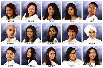Daftar Nama 13 Kontestan Indonesian Idol yang lolos 14 Februari 2014