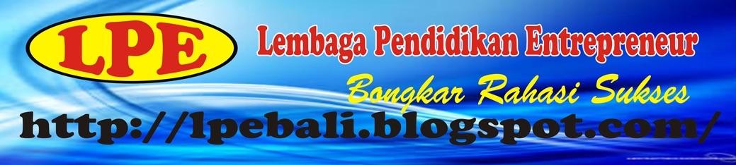 Lembaga pendidikan Entrepreneur Bali