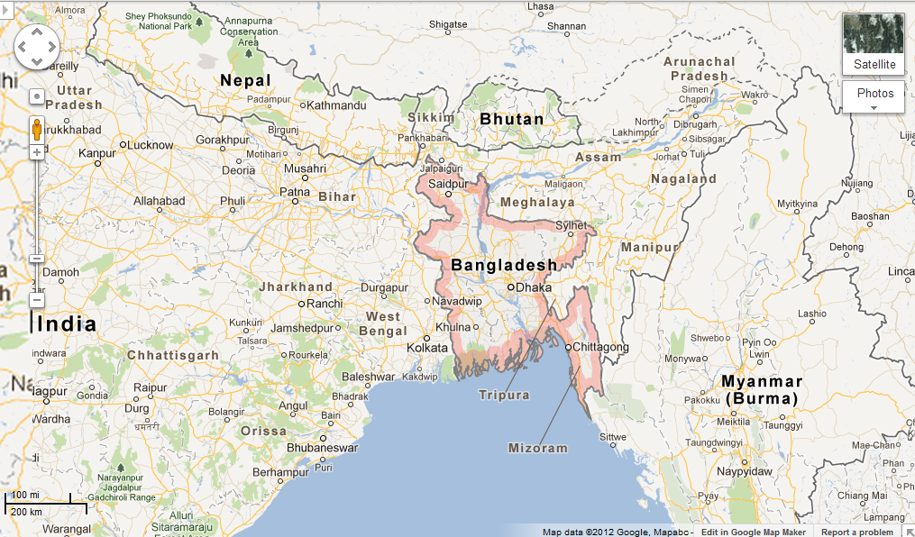 Us Embassy Dhaka Google Map