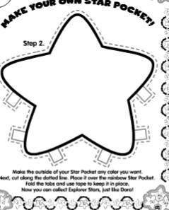 Dora Star Template Creative And Cheap Fun Fabulous diego
