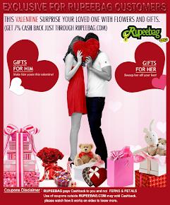 Valentine's Day- Cashback offers