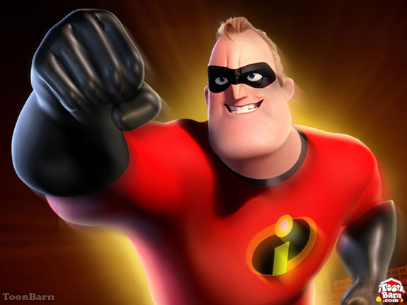 mr incredibles cartoon characters gallery for kids