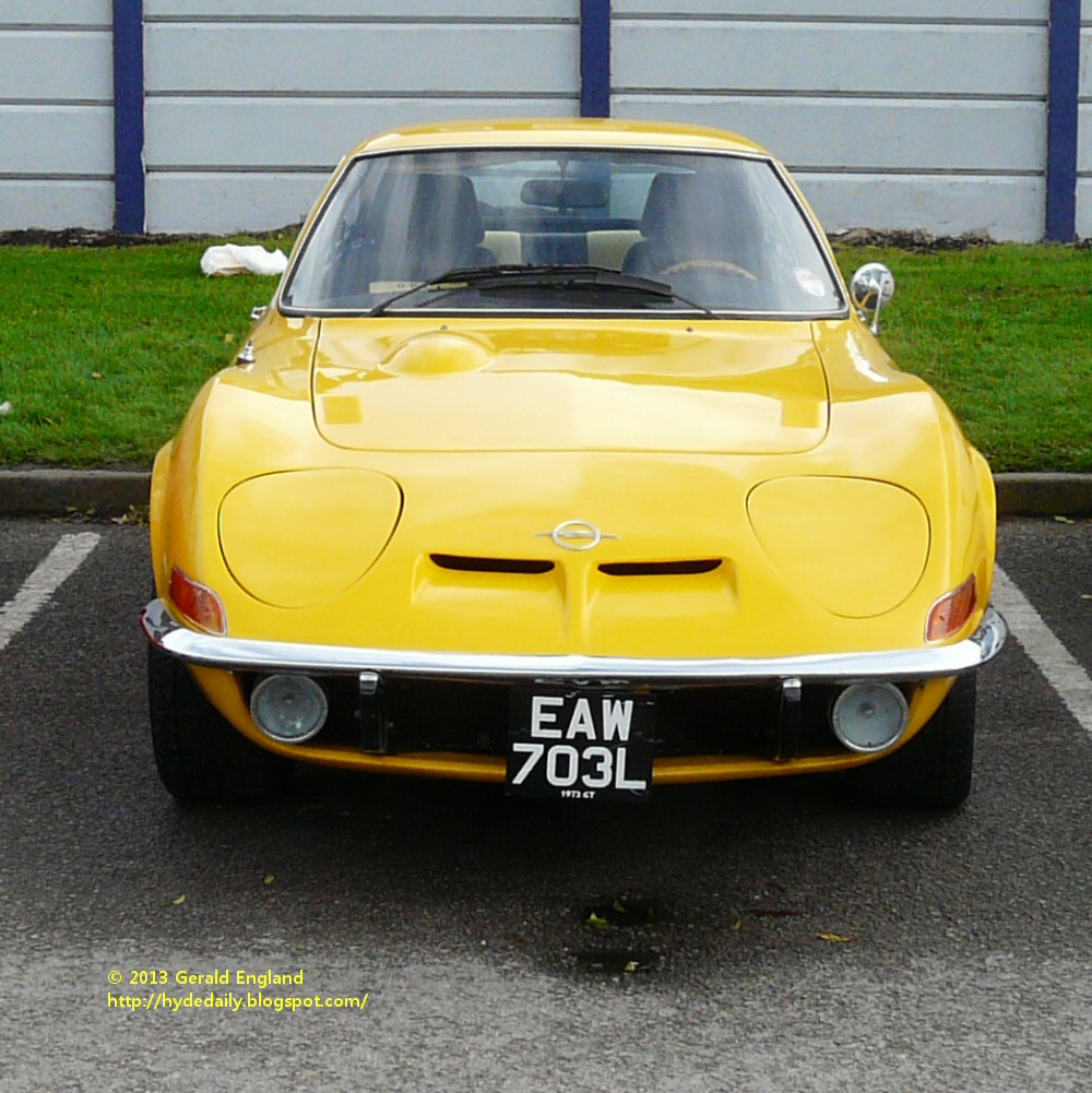 ABC Wednesday: O Is For Opel GT