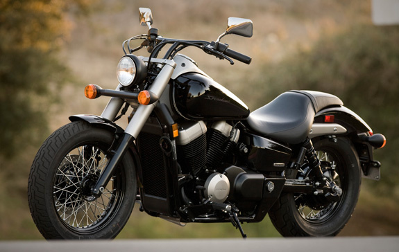 The 2012 Honda Shadow Phantom Skimming The Pavement At Just 25.7 Inches,  The Phantomu0027s Low Seat Height Makes Flat Footing It At Stoplights Or In  Parking ...