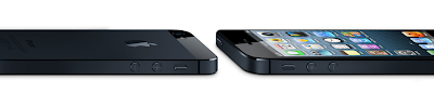 Thin Sleek design iPhone 5 :  Intelligent computing