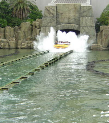 Universal Studios Orlando Hulk Ride Roller Coaster