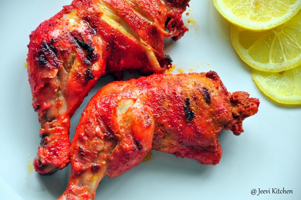 Jeevi Kitchen: Grilled Tandoori Chicken