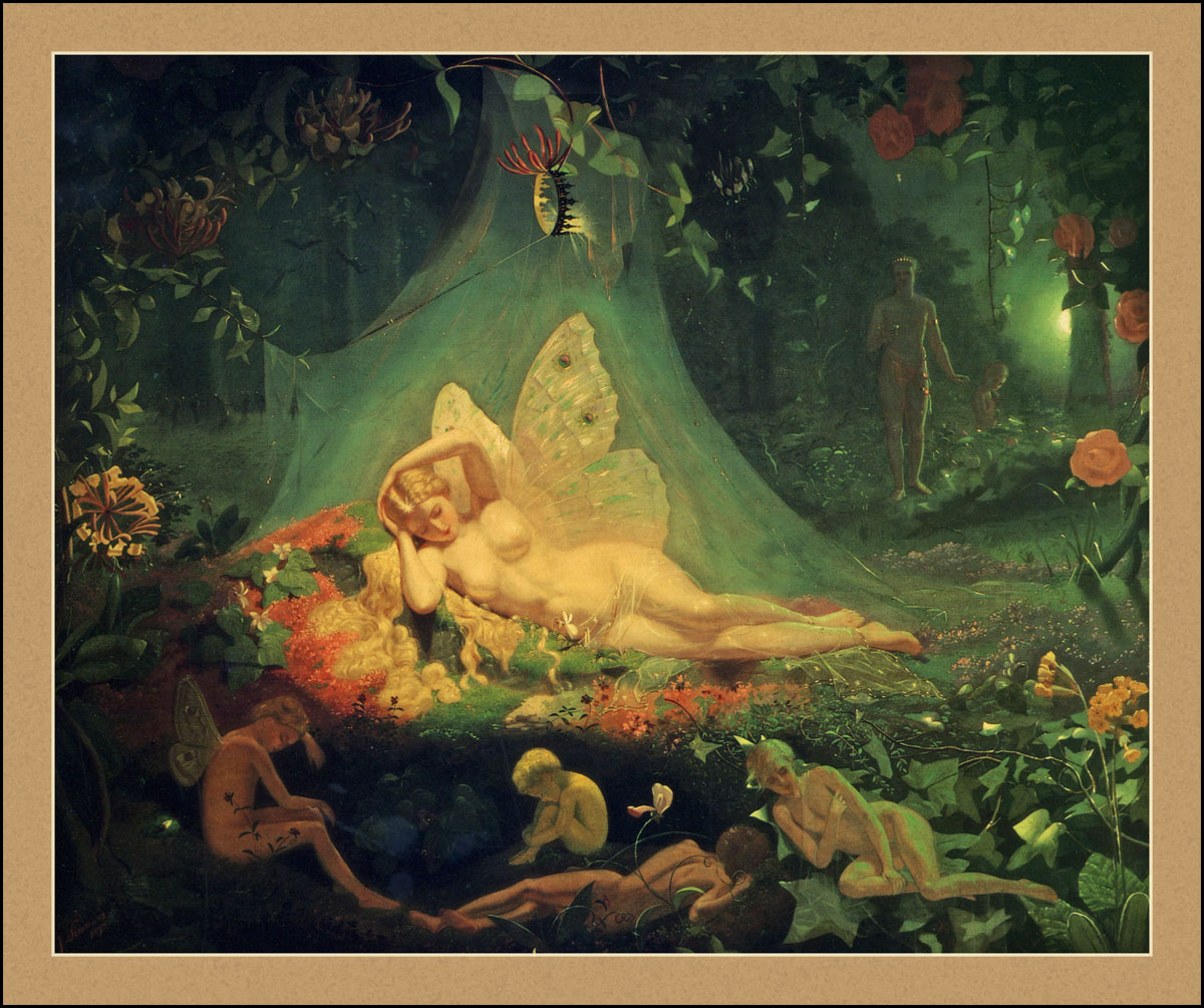 john simmons there lies titania