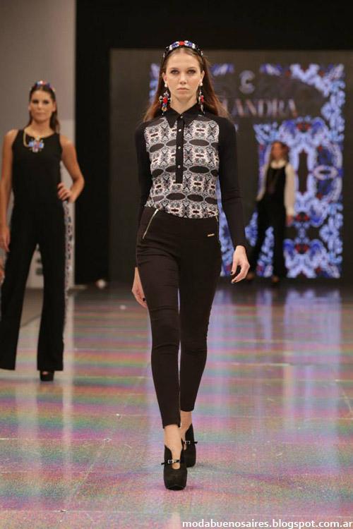 Colección Calandra otoño invierno 2014. Camisas y blusas de moda 2014.