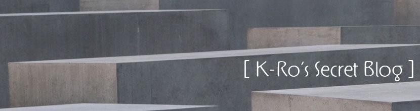 k-ro's secret blog