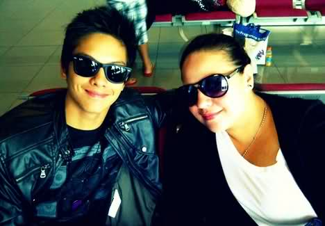 Daniel Padilla and mom Karla Estrada