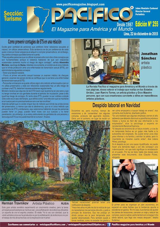 Revista Pacífico Nº 255