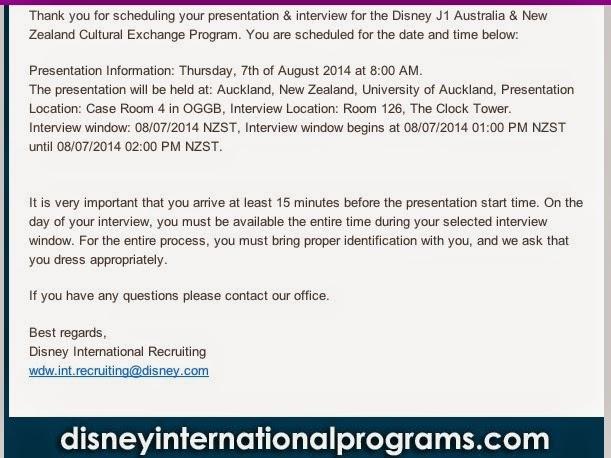 priya s disney adventures invite to presentation and interview