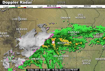 >Major Winter Storm takes aim from New Mexico to Kansas, Mild Weather Returning to UK