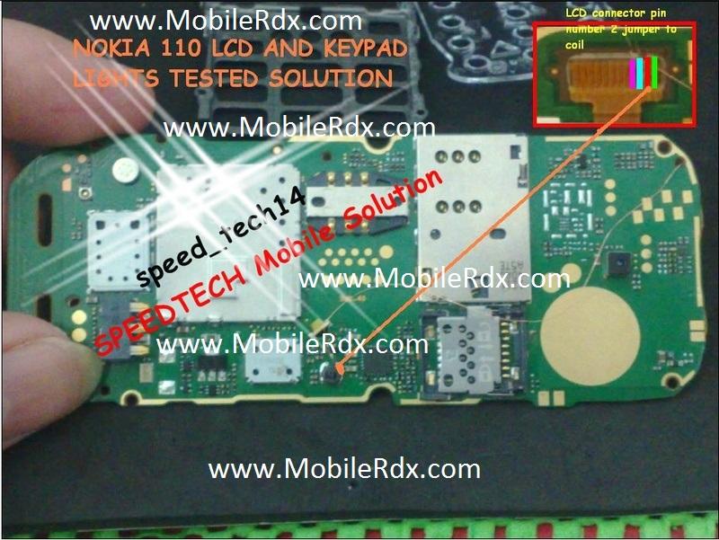 Nokia 112 LCD Jumper
