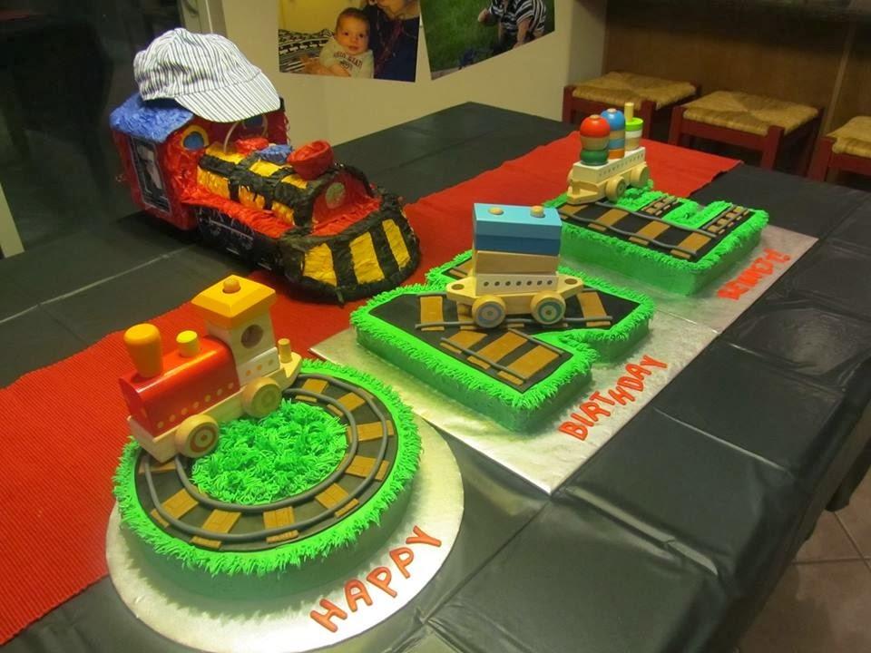 Cake With Train Design : Sugar Love Cake Design: Train O-N-E Cake