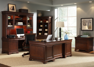 Mt. Vernon Executive Home Office Furniture Set By Liberty Furniture