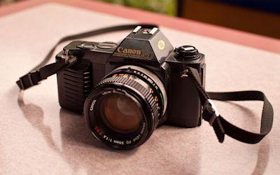 Canon T50 - Cámaras del pasado - Vintage camera