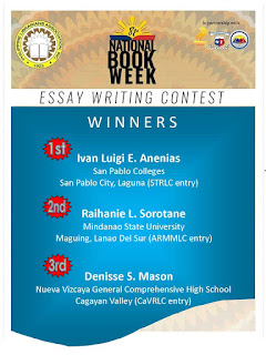 Essay writing contest winners