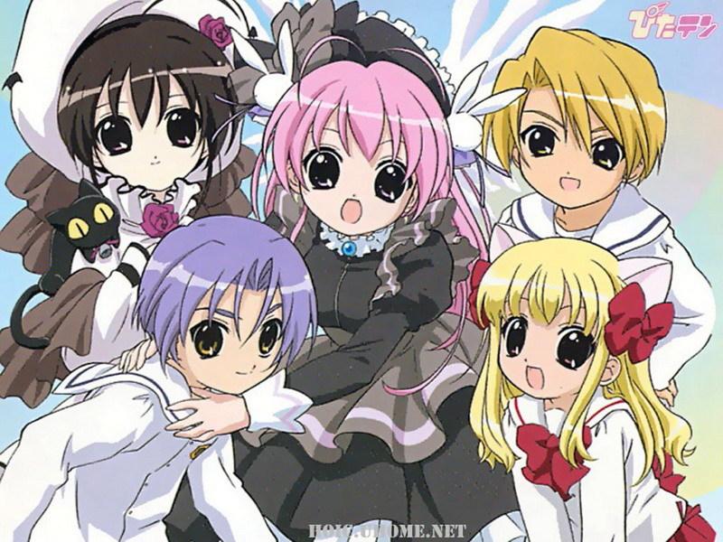 Shia, Misha , Ten , Kotarou y Koboshi