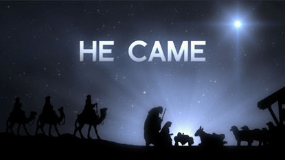 Blessings From the Sun Porch: Merry Christmas! He Came...for You!