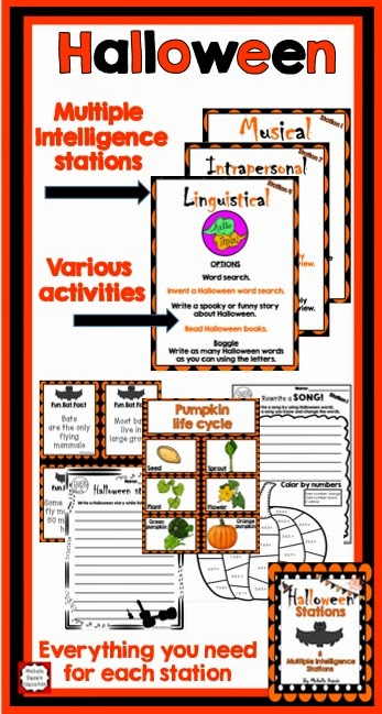 Halloween Multiple Intelligences