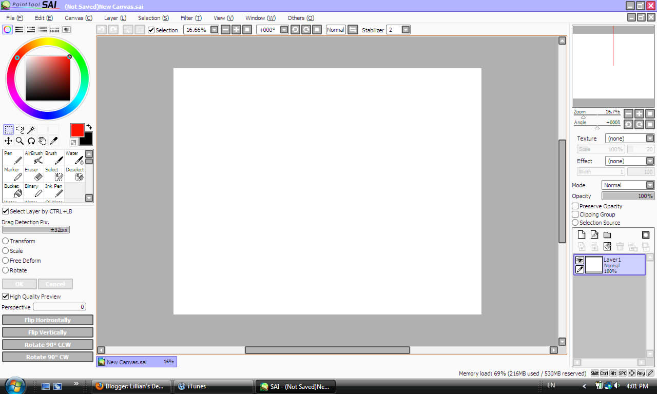 Paint Tool Sai Without Tablet