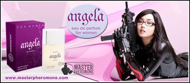 Angela Pheromone Parfum by Identic Pheromone - Senjata Penakluk Pria