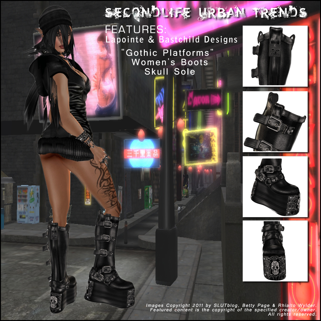 I am constantly on the look-out for new, well-made footwear. It's a  competitive market in Secondlife and there are many talented creators.