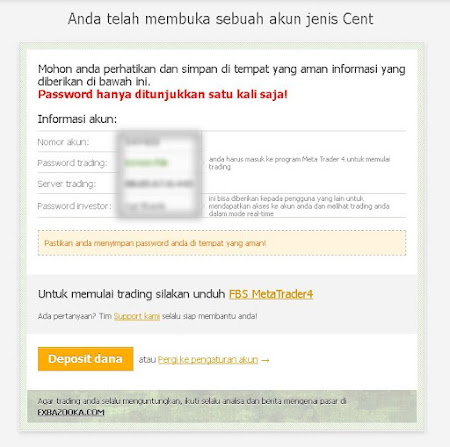 Masukkan User Password