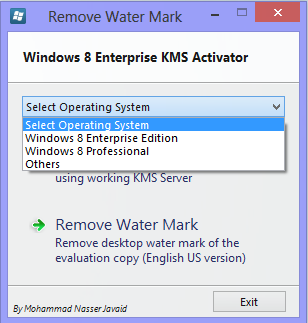 ativador do windows 8 enterprise 64 bits