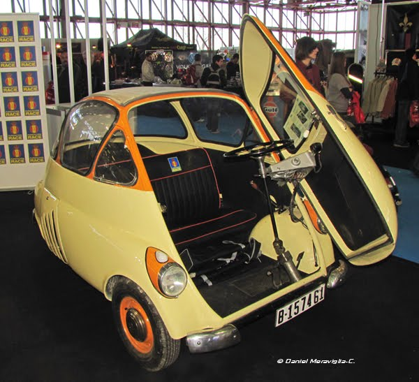 Fotos de coches isetta el coche huevo for Coche huevo