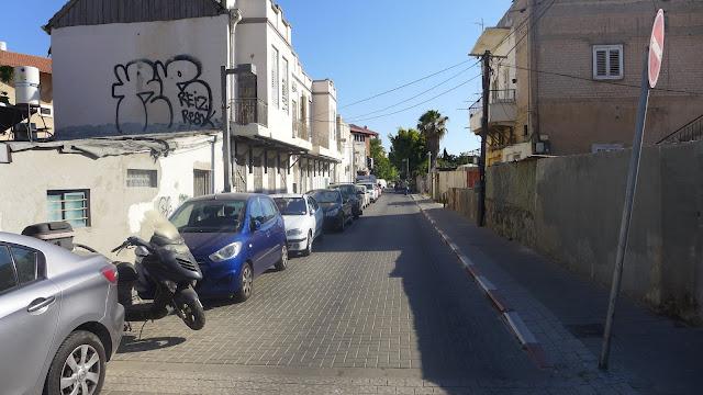 תל אביב - רחוב פינס - יוני 2015